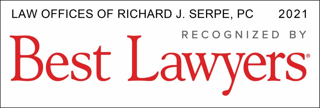 Virginia Best Lawyers 2021, Richard Serpe